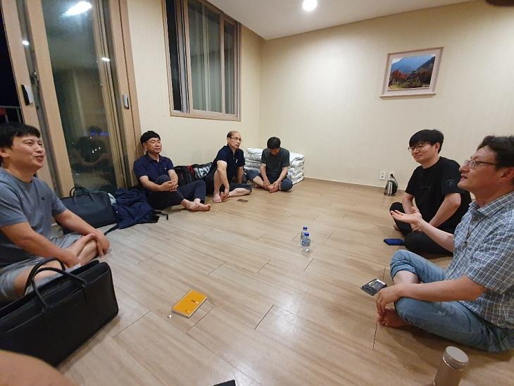 조별 그룹 모임시간